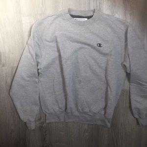 Heather Grey Eco Champion Crewneck Sweater
